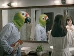 Dare's Creepy Bird-Headed Man