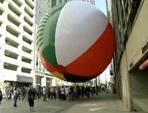 World's Biggest Beach Ball