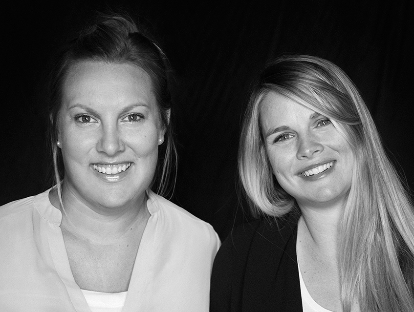 Budgie Content Executive Producer Sandy Kelly and Sales Executive Jill Godbold