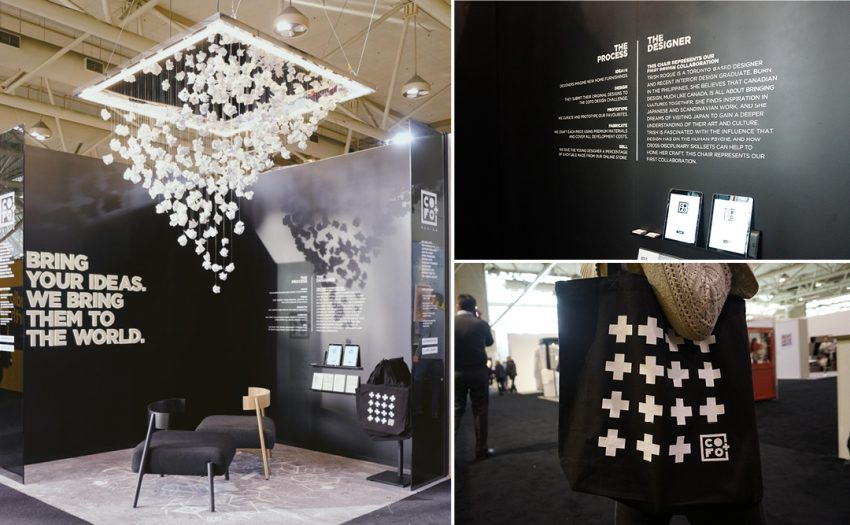 COFO's debut at the Interior Design Show in Toronto