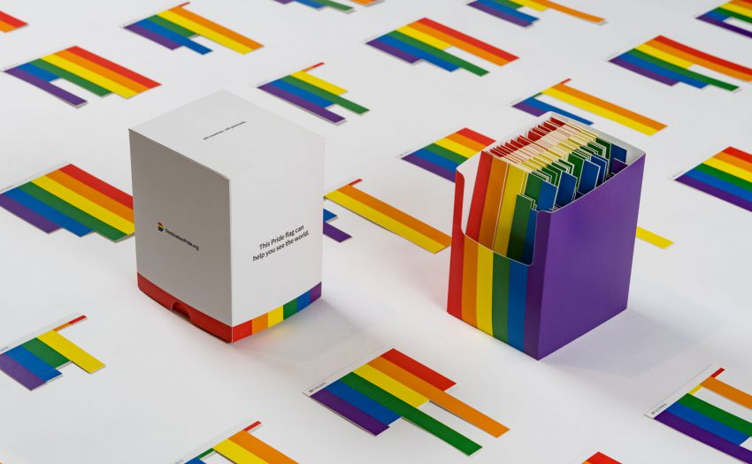 Destination Pride Postcards: 196 laser-cut cards - for every country on Earth.