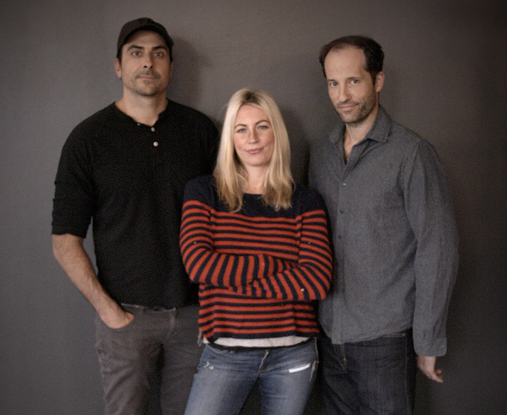 ​JEAN - left to right:  ​Armand Prisco, ​Natalie Prisco​, Eric Eckelman
