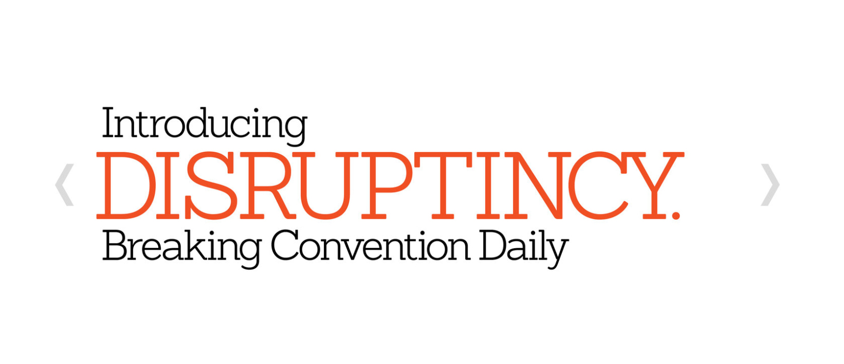 Disruptincy_homepage_glossy