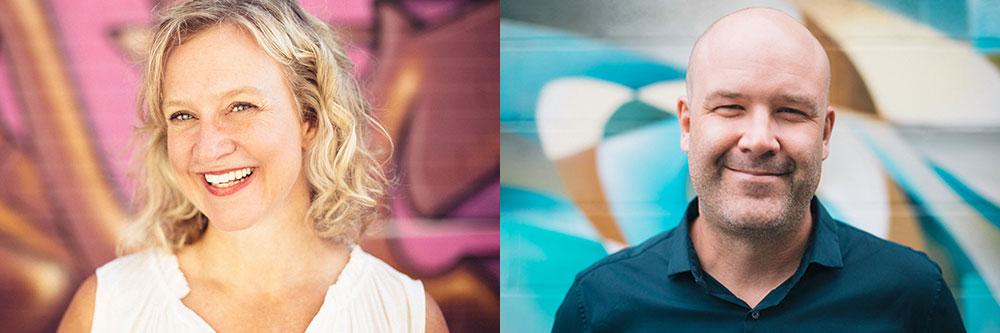 The Garden's co-founders Shari Walczak and Shane Ogilvy